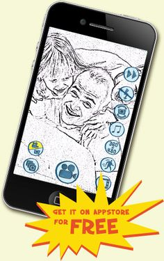 Cartoonatic App for recording animated videos on your iPhone or iPod touch.