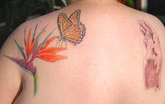 d140747a1e958 Bird Of Paradise Tattoo, Skin Deep Tattoo, Key Tattoos, Hawaiian Tattoo,  Monarch