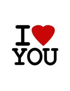 I Love You eGifter greeting card!