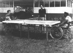 Allenamento di tennis tavolo