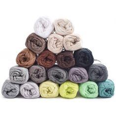 Yarn Pack - Rainbow - Earthy Spirit - 20 Colours from Hobbii Crochet Dishcloths, Knit Or Crochet, Baby Blanket Crochet, Yarn Colors, Colours, Arm Knitting Yarn, Crochet Unicorn Hat, Crochet Prayer Shawls, Yarn For Sale