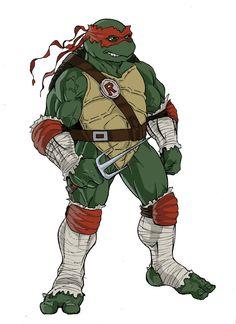 teenage mutant ninja turtles drawings+ Raphael | deviantART: More Like ninja turtles next mutation sketch of Donatello ...