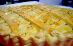 Receita de Torta de frango com massa crocante - Cozinhar.org