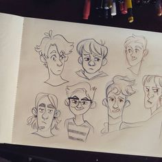 """777 curtidas, 4 comentários - Isadora Zeferino (@imzeferino) no Instagram: """"some random boys using mixed references from my pinterest ♥ top one on the left looks a bit like…"""""""
