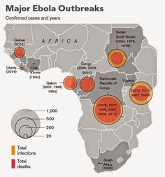 check out the Latest Ebola Virus Outbreak Map and know the live information on it