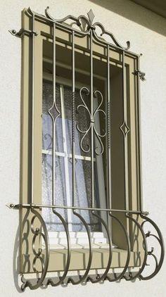 Modern Window Design, Iron Window Grill, Window Grill Design Modern, House Window Design, Grill Door Design, Modern Interior Design, Bedroom False Ceiling Design, Room Design Bedroom, Home Map Design