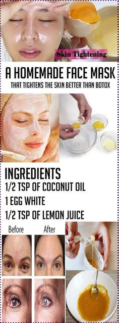 A Homemade Face Mask That Tightens The Skin Better Than Botox – Let's Tallk