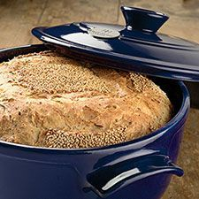 "Multi-Grain Sourdough Boule. ""This sourdough loaf is enhanced with whole grains and a generous topping of seeds."" from kingarthurflour.com/recipes"