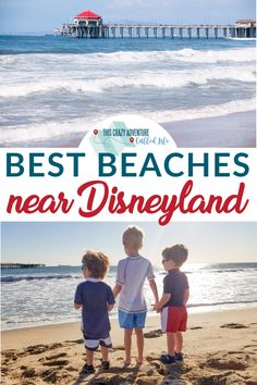Looking to add a beach day to your Disneyland vacation but not sure which beach is best? Check out our list of best beaches near Disneyland! Hotels Near Disneyland, Disneyland Vacation, Disneyland Tips, Disney Cruise Line, Disney Parks, Travel With Kids, Family Travel, Victoria Beach, Seal Beach
