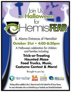 HEMISFEAR at Hemisfair! www.hemisfair.org #Halloween #kids #SATX