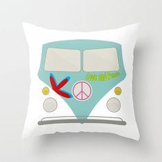 Transporter Throw Pillow by Mauricio Gottsfritz - $20.00