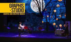 """Graphis Studio, scenografie digitali per lo spettacolo teatrale """"Variegato"""""""