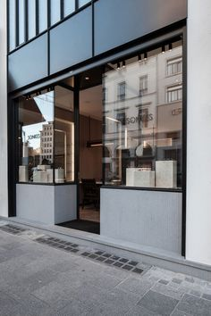 The Refurbished 'Lionel Sonkes' Optical Shop In Brussels, Belgium | Yatzer