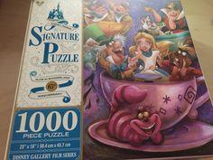 Disney Parks Signature Puzzle 65th Alice Mad Tea Party 1000 pcs Puzzle New Box