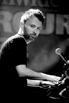 Thom Yorke.. If I have to explain what I admire about this man, you clearly haven't ever really listened to anything he has written or produced. It's a simple as that.