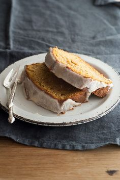 Sweet Potato Pound Cake with Spiced Brown Butter Glaze