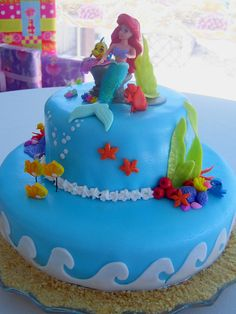 Ariel cake Brittany I thought of you!