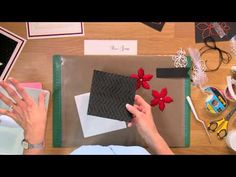 ▶ Crafting My Style With Sue Wilson - Sparkling Poinsettia For Creative Expessions - YouTube