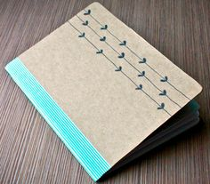 http://bee-inspired.blogspot.com/2012/02/diy-notebook-sketchbook-whatever-i-want.html Personalized School Supplies, Diy School Supplies, Crafts To Make And Sell, Easy Diy Crafts, Creative Crafts, Diy Notebook, Notebook Covers, Simplified Planner, Craft Images