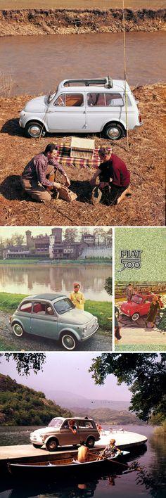 Fiat 500 commercial