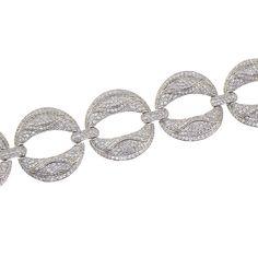 Micro setting bracelet