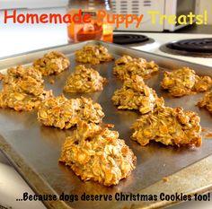 Homemade Dog Treats.  http://thegreenpalate.tumblr.com