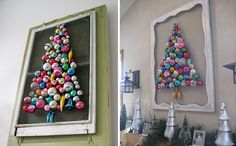 Funny Christmas Door Decorations | This would be a great alternative to a wreath on the front door. You ...