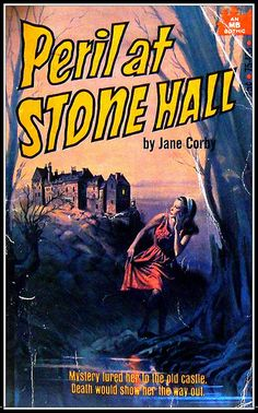Peril at Stone Hall by Jane Corby. Wow! What a font! Holy cats.