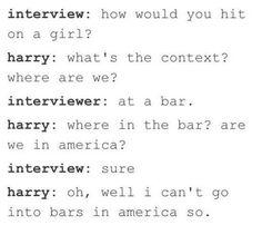 Haha gotta love Harry!!