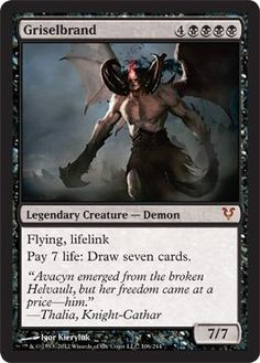 Magic: the Gathering - Griselbrand (106) - Avacyn Restored Magic: the Gathering