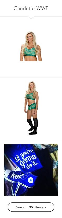 """""""Charlotte WWE"""" by thefuturemrsambrose ❤ liked on Polyvore featuring charlotte, wwe, jewelry, rings, home, home decor, gas jeans and diva"""