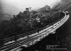 Ferrovia SPR - Planos inclinados Data: desconhecida Arquivo: FAMS Autor: A.D