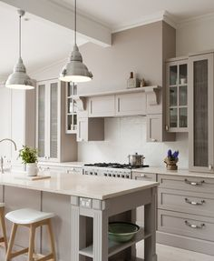 Provincial Kitchens is a bespoke kitchen design company that is commited to building exquisite kitchens, bathrooms and interiors for your home. Beach House Kitchens, Cottage Kitchens, Grey Kitchens, Home Kitchens, Kitchen Splashback Tiles, Kitchen Benchtops, Kitchen Cabinets, Taupe Kitchen, New Kitchen