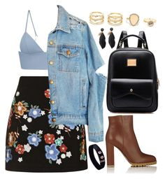 """""""Untitled #492"""" by gabbyriera on Polyvore featuring Topshop, T By Alexander Wang, Gianvito Rossi and LULUS"""
