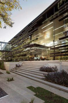 Image 13 of 29 from gallery of Falcon Headquarters 2 & Rojkind Arquitectos + Gabriela Etchegaray. Courtesy of Rojkind Arquitectos, © Jaime Navarro Architecture Restaurant, Architecture Office, Contemporary Architecture, Architecture Details, Landscape Architecture, Landscape Design, Office Buildings, Chinese Architecture, Futuristic Architecture