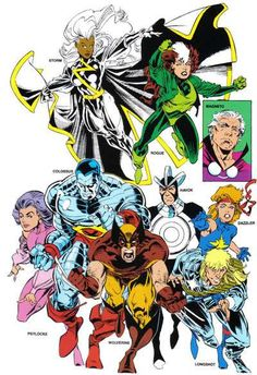 X-Men: Outback Era, my favorite lineup with Gambit eventually.