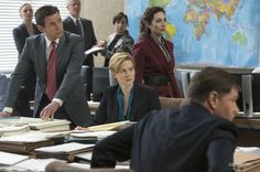 "Laura Linney als ""Under Secretary of State"" Sarah Shaw."