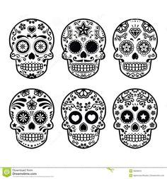 Image result for dia de los muertos skull