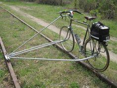 On rails bikes