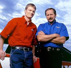 Earnhardt father and son.  Dale Sr taken too soon! Ready for 2013 Jr!!!!