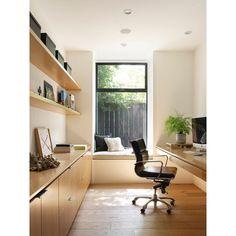 Minimalist work space; making room for more. _ 📷: @matthewmillmanphoto | interior design: @susanmitnickdesignstudio Home Interior, Interior And Exterior, Interior Design, Interior Plants, Interior Modern, Interior Ideas, Home Office Design, Home Office Decor, Office Ideas