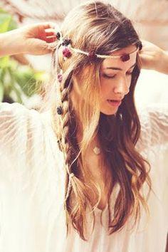 La moda en tu cabello: Peinados estilo hippie - Verano 2016