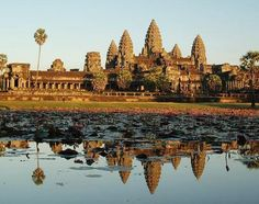 Angkor Wat, Cambodia. Not a castle, but a religious building...still, very castle-like...