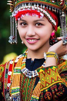 Taiwan - Niña aborigen