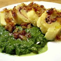 Czech Recipes, Ethnic Recipes, Salty Foods, Gnocchi, Relleno, Broccoli, Risotto, Mashed Potatoes, Macaroni And Cheese