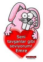 Tavşanlar Gibi Seviyorum O'nu ne kadar çok sevdiğinizi ismine özel Erdil Yaşaroğlu karikatürleriyle anlatın. Erdil Yaşaroğlu ve BuldumBuldum...