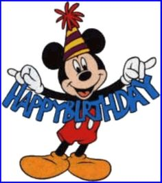 With Tenor, maker of GIF Keyboard, add popular Mickey animated GIFs to your conversations. Share the best GIFs now >>> Happy Birthday Mickey Mouse, Wish You Happy Birthday, Happy Birthday Quotes, Happy Birthday Images, Happy Birthday Greetings, Happy B Day, Birthday Pictures, Mickey Mouse Y Amigos, Mickey Mouse Clipart