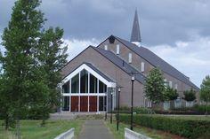Church of the Reformed Congregations in the Netherlands (Gereformeerde Gemeente in Nederland) in #Terneuzen. 640 Seats. #kerk