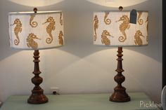 Old lamps restored with Gloss Enamels