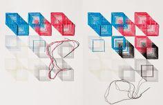 El blog de Dmc: Entrevistamos a Evelin Kasikov: diseñadora que borda sobre papel